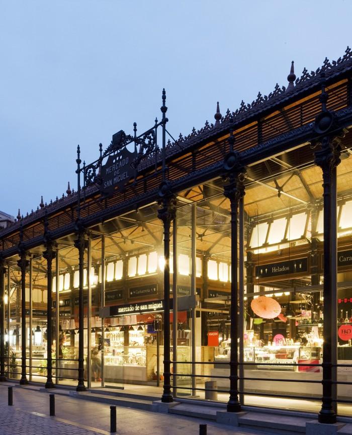 Mercado de San Miguel en los apartamentos madrid por días
