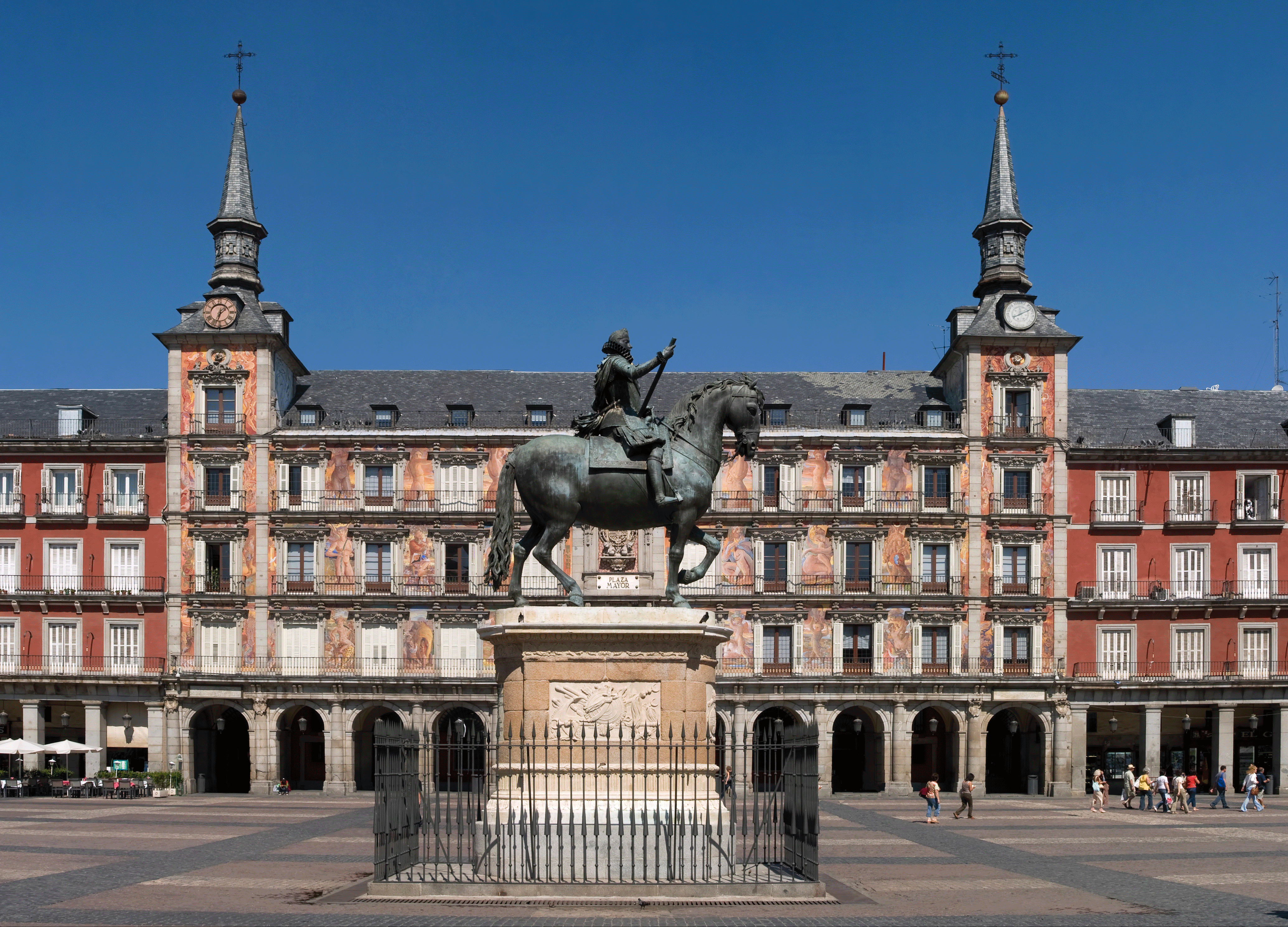 Madrid: Plaza Mayor. Apartamentos Madrid Por Días